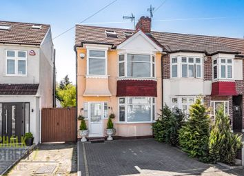 Thumbnail 4 bed terraced house for sale in Bridport Avenue, Romford