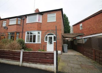 Thumbnail 3 bed semi-detached house for sale in Devon Road, Flixton, Urmston, Manchester