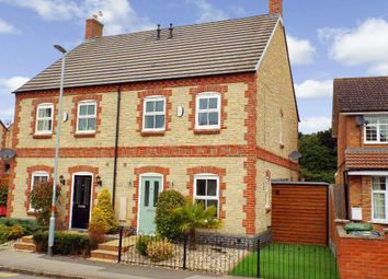 Thumbnail 3 bed semi-detached house for sale in High Street, Bozeat, Northamptonshire