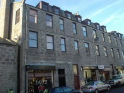 Thumbnail 1 bed flat to rent in Rose Street, Aberdeen City