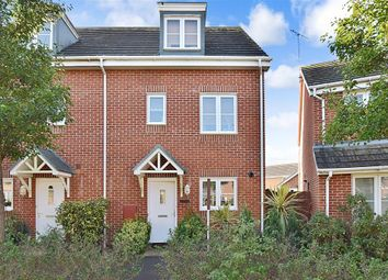Thumbnail 3 bed town house for sale in Cheal Way, Littlehampton, West Sussex