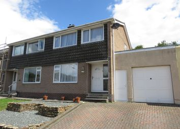 Thumbnail 3 bed semi-detached house for sale in Maybrook Drive, Saltash