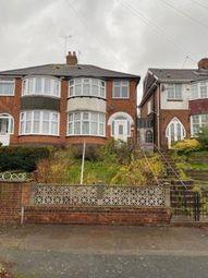 3 bed semi-detached house for sale in Dorrington Road, Perry Barr, Birmingham, West Midlands B42