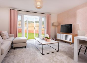 "Thumbnail 4 bed end terrace house for sale in ""Leven"" at Kingsgate Retail Park, Glasgow Road, East Kilbride, Glasgow"