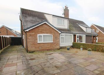 Thumbnail 4 bed semi-detached bungalow for sale in Station Road, New Longton, Preston