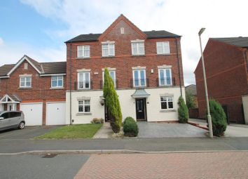 Thumbnail 4 bed town house to rent in Manderstone Close, Dudley, West Midlands