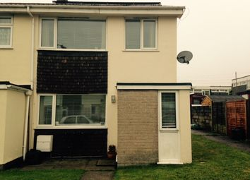 Thumbnail 3 bed end terrace house to rent in Treswithian Park Road, Camborne
