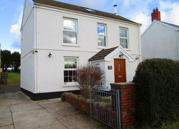 Thumbnail Detached house for sale in Gower Road, Upper Killay, Swansea, City And County Of Swansea.