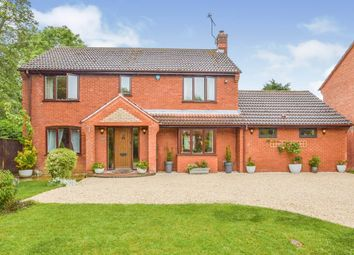 Thumbnail 4 bed detached house for sale in Northleigh, Furzton, Milton Keynes