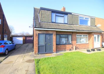 Thumbnail 3 bed semi-detached house for sale in Shearwater Avenue, Darlington