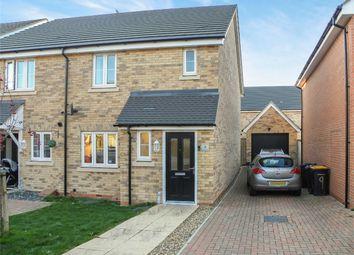 Thumbnail 3 bed semi-detached house for sale in Elliott Green, Shortstown, Bedford