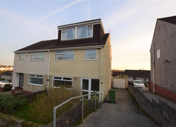 Thumbnail 4 bed semi-detached house for sale in Tredegar Close, Llanharan, Pontyclun