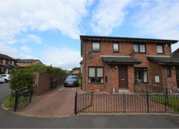 Thumbnail 2 bed semi-detached house for sale in Dunskaith Place, Glasgow