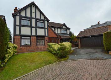 Thumbnail 4 bed detached house for sale in Leyburn Close, Whitefield, Manchester