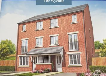 Thumbnail 3 bed town house for sale in Holly Close, The Woodlands, Stalybridge