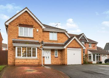 Thumbnail 4 bed detached house for sale in Columbine Road, Leicester