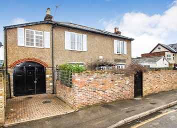 Thumbnail 3 bed detached house for sale in Park Road, East Molesey, Surrey