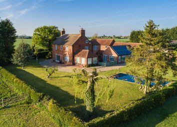 Thumbnail 5 bed detached house for sale in Collingham Road, Swinderby, Lincoln