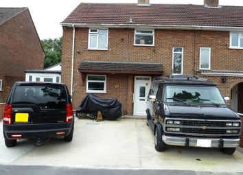 Thumbnail 3 bedroom semi-detached house for sale in Moorside Road, West Howe, Bournemouth