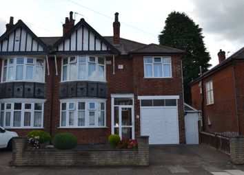 Thumbnail 4 bedroom semi-detached house for sale in Homeway Road, Evington, Leicester
