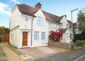Thumbnail 3 bed end terrace house for sale in Byfleet, Surrey