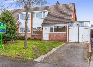 Thumbnail 2 bed semi-detached house for sale in Briar Close, Newhall, Swadlincote