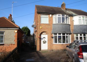 Thumbnail 3 bed semi-detached house for sale in Barkbythorpe Road, Leicester