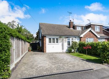 Thumbnail 2 bed semi-detached bungalow for sale in Passingham Avenue, Billericay
