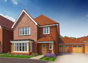 Thumbnail 4 bed detached house for sale in Hitches Lane, Fleet, Hampshire