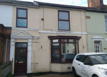 Thumbnail 3 bedroom terraced house to rent in Bramford Road, Ipswich