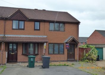 Thumbnail 2 bed terraced house to rent in Thorn Street Mews, Woodville, Swadlincote
