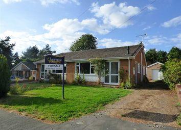 Thumbnail 2 bedroom semi-detached bungalow for sale in Marsons Drive, Crick, Northampton
