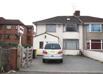 Thumbnail 4 bedroom semi-detached house for sale in Airport Road, Hengrove, Bristol