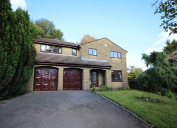 Thumbnail 5 bed detached house for sale in Spring Bank Lane, Bamford, Rochdale