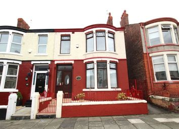 Thumbnail 3 bed terraced house for sale in Woodsorrel Road, Birkenhead