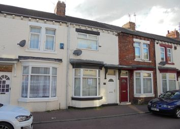 Thumbnail 2 bed terraced house to rent in Costa Street, Middlesbrough