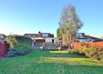 Thumbnail 3 bed semi-detached bungalow for sale in Vale Avenue, Findon Valley, Worthing