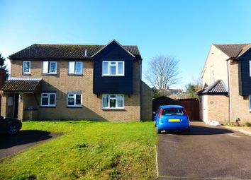 Thumbnail 2 bedroom semi-detached house for sale in Orchard Close, Biggleswade