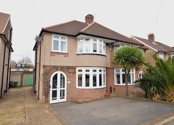 Thumbnail 3 bed semi-detached house for sale in Meadowview Road, Epsom, Surrey.