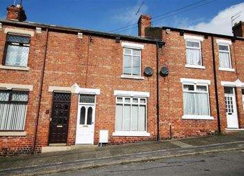 Thumbnail 2 bedroom terraced house for sale in Windsor Terrace, Crook, County Durham