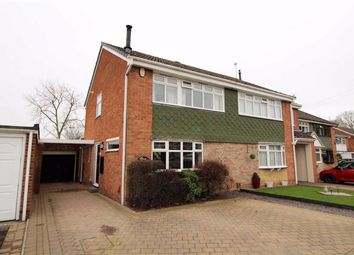 Thumbnail 3 bed semi-detached house for sale in Eversley Grove, Northway, Sedgley