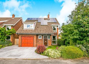 Thumbnail 4 bed detached house for sale in Dormer Close, Rowton, Chester