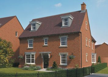 "Thumbnail 5 bed detached house for sale in ""Morecroft"" at St. Lukes Road, Doseley, Telford"