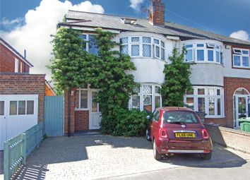 Thumbnail 4 bed semi-detached house for sale in Spinney Rise, Birstall, Leicester, Leicestershire