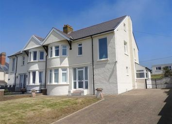 Thumbnail 4 bed semi-detached house for sale in Gwbert, Cardigan