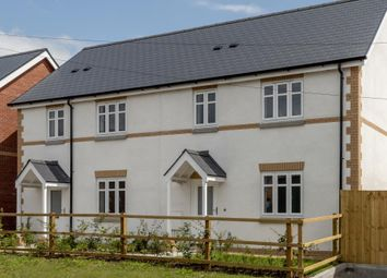 Thumbnail 3 bedroom semi-detached house for sale in Bookers Edge, Hay On Wye