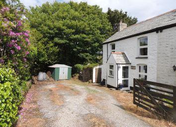 Thumbnail 2 bed semi-detached house for sale in 3 Carloggas Cottage, Carloggas, Carloggas