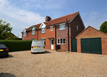 Thumbnail 4 bed semi-detached house for sale in Church Cottages, Mileham, King's Lynn