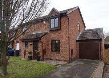 Thumbnail 2 bed semi-detached house for sale in Pentridge Drive, Ilkeston