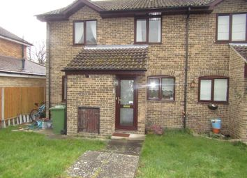Thumbnail 2 bedroom end terrace house for sale in Nightingale Close, Rowland's Castle
